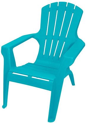 Gracious Living Adirondack II Chair, Intense Teal