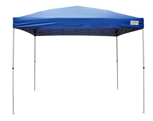 Seasonal Trends Canopy W/Rapid Push, Blue, 10 x 10 ft