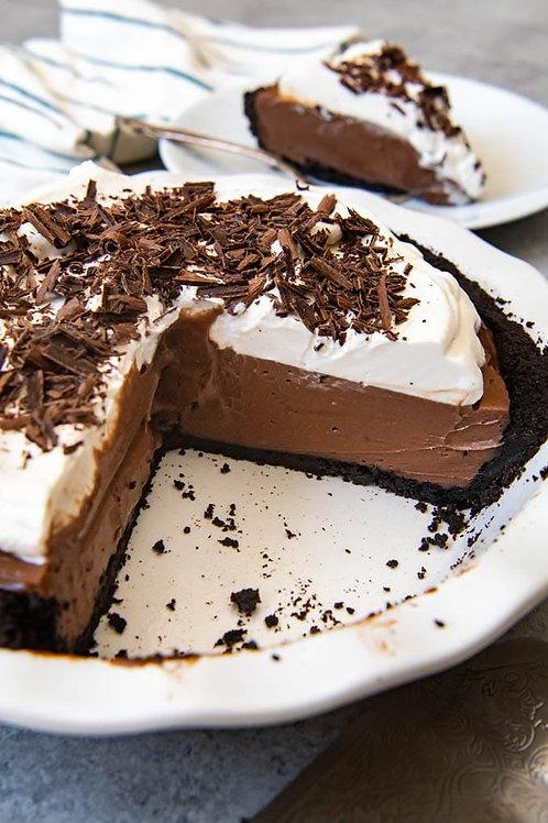 Chocolate Fudge Cream No Bake Dessert Mix