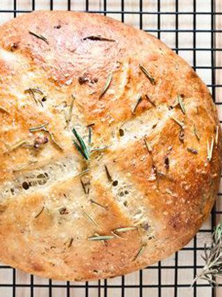 Rosemary, Garlic, Herb Bread