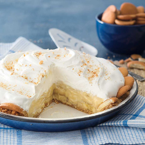 Banana Cream No Bake Dessert Mix