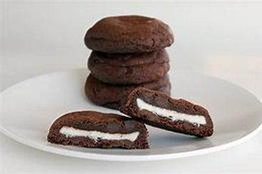 Peppermint Pattie Stuffed Chocolate Cookie Mix