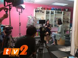 《詹雪琳让大马音乐教育迈进Musicpreneur时代》TV2电视台专访