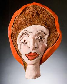 Woman in the Orange Hat