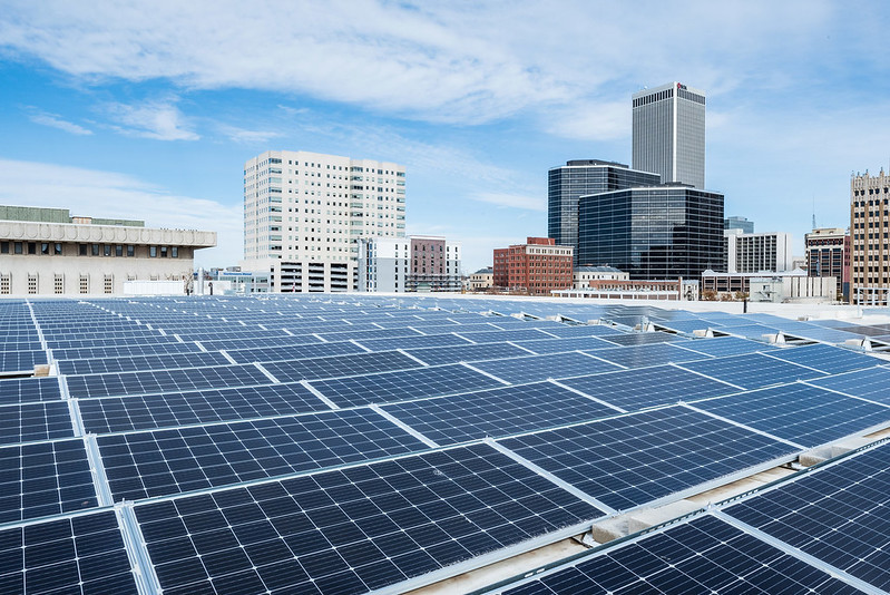 Commercial solar building demand charges