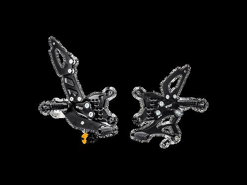 Footrest system from Bonamici for Aprilia RSV4, Factory, R, RR (09-16) | A003 / 4
