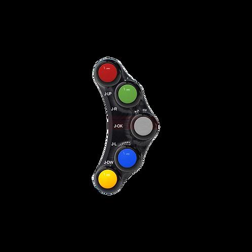 Lenkerschalter mit 7 Buttons für Aprilia RSV 4/R/RR/RF (17-20)   JP PLSR 009RF