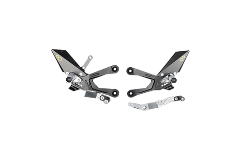 Rearset from LighTech for Yamaha YZF-R1 / R1M (15-20) (with ABE)