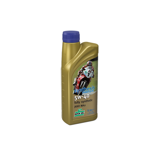 Rock Oil Synthesis SAE 5W40 Street and Track Oil (1 liter)
