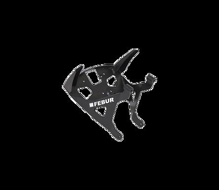 Aluminium Instrumentenhalter für Ducati Panigale V4/S/R (18-21) von Febur