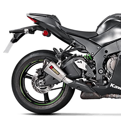 Akrapovic Slip-On Line (Titan) für Kawasaki ZX-10R/RR (Bj:16-20) S-K10SO17-ASZ