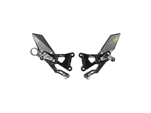 Footrest system from LighTech for BMW S 1000 RR (09-14) (with ABE)