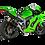 Thumbnail: Akrapovic Racing Line (stainless steel) for Kawasaki ZX-10 R / RR (Bj: 21) S-K10R10-RC