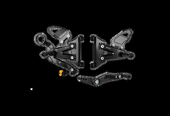 Fußrastenanlage von Bonamici Racing für BMW S 1000 RR K67 (19-21) | B007