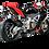 Thumbnail: Akrapovic Slip-On Line (Carbon) für Aprilia RSV4/R/Fac (Bj: 09-16) S-A10SO6-ZC