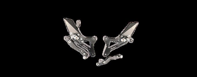 Fußrastenanlage von LighTech für Yamaha YZF-R1 (09-14) (mit ABE)