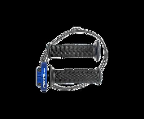 Kurzhubgasgriff für Yamaha YZF-R1 (09-14) von Accossato | MY002-YA011