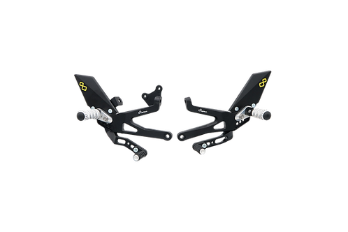 Rearset from LighTech for Ducati Panigale V4 R (2019) (with ABE)
