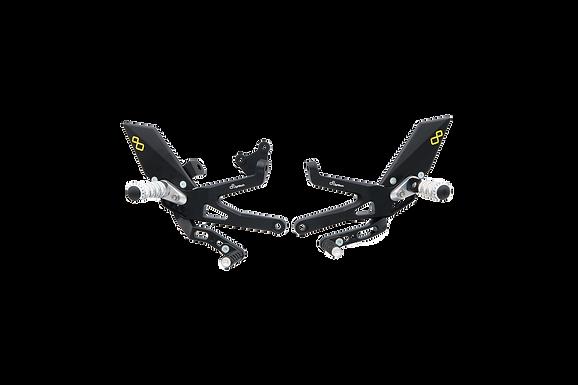 Fußrastenanlage von LighTech für Ducati Panigale V4 S Corse/Speciale (18-19)