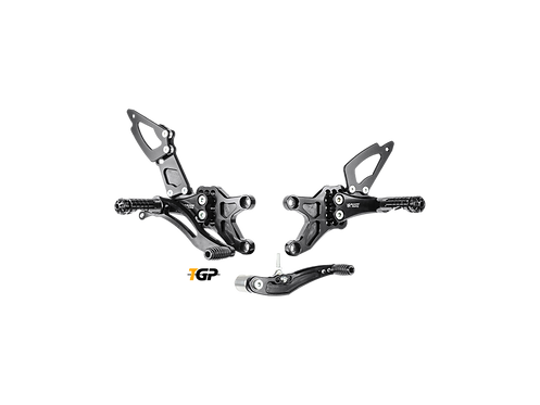 Footrest system from Bonamici for Honda CBR 600 RR (07-16) | H005 / 6