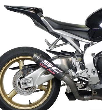 SC Project GP-M2 Slip-On aus Carbon für Honda CBR 1000 RR (08-13)