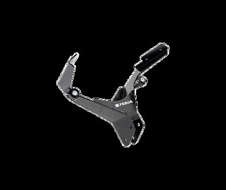 Aluminium Instrumentenhalter für Yamaha YZF-R3 (19-21) von Febur
