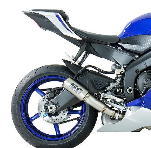 SC Project CR-T Slip-On aus Carbon oder Titan für Yamaha R6 (17-20)