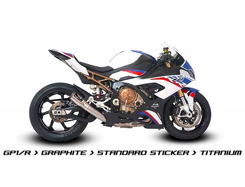 Austin Racing Titanium complete system (GP1R / GP2R / V3) for BMW S1000RR K67 (19-21)