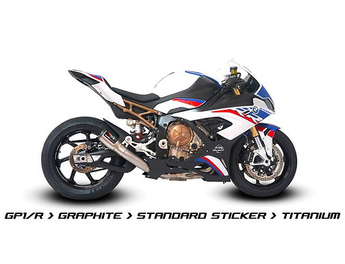 Austin Racing Titanium Komplettanlage (GP1R/GP2R/V3) für BMW S1000RR K67 (19-21)