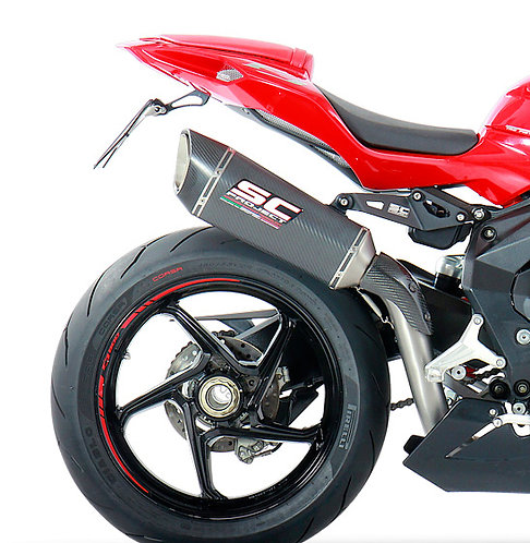 SC Project SC1-R Slip-On aus Carbon für MV Agusta F3 (11-16)