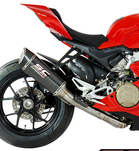 SC Project SC1-R Slip-On mit Cat-Link für Ducati Panigale V4 & V4 S (18-20)