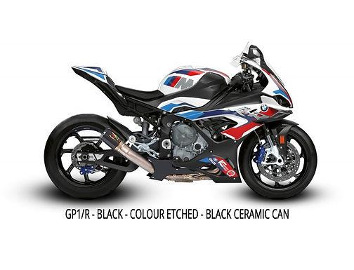 Austin Racing Titanium Komplettanlage (GP1R/GP2R/V3) für BMW M1000RR K66 (2021)