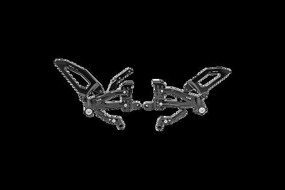 Fußrastenanlage von CNC Racing für Ducati Panigale V4 R (19-21)