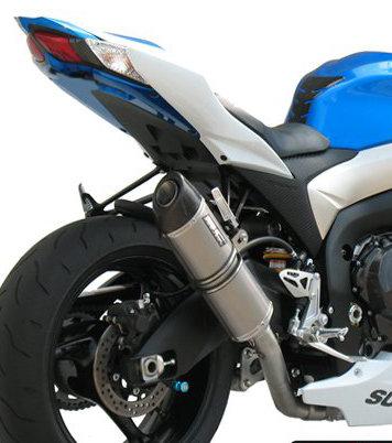 SC Project Ovaler Slip-On aus Carbon oder Titan für Suzuki GSX-R 1000 (09-11)