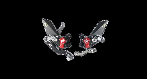Rearset from LighTech for Suzuki GSX-R 600/750 (11-17)