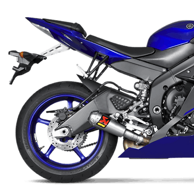 Akrapovic Slip-On Line (Titanium) für Yamaha YZF-R6 (06-20) S-Y6SO10-AHBT