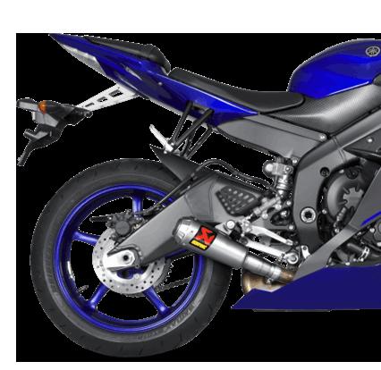 Akrapovic Slip-On Line (Titanium) for Yamaha YZF-R6 (06-20) S-Y6SO10-AHBT