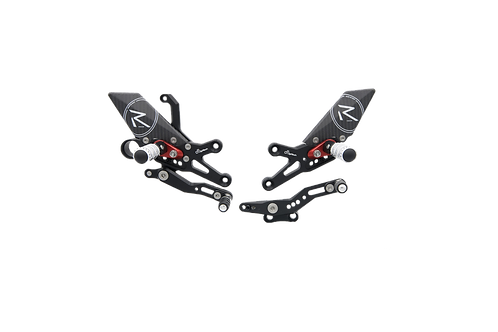 """Rearset """"R"""" from LighTech for Honda CBR 1000 RR (08-19) (with ABE)"""