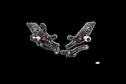 """Fußrastenanlage """"R"""" von LighTech für Honda CBR 1000 RR (08-19)(mit ABE)"""