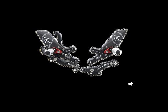 """Fußrastenanlage """"R"""" von LighTech für Honda CBR 1000 RR (08-19) (mit ABE)"""