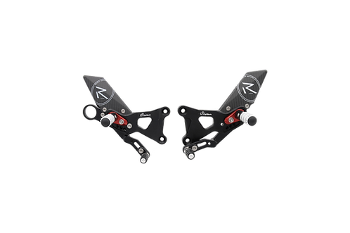 """Footrest system """"R"""" from LighTech for BMW S 1000 RR (09-14) (with ABE)"""