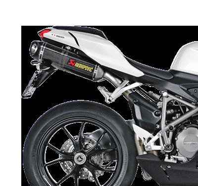 Akrapovic Slip-On Line (Carbon) for Ducati 1098 / S / R (Bj: 07-09) S-D10SO3-ZC
