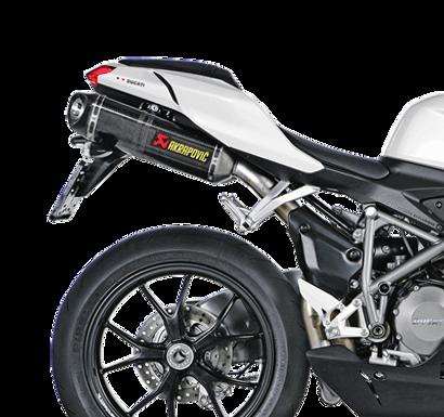 Akrapovic Slip-On Line (Carbon) für Ducati 848/EVO (Bj: 08-13) S-D10SO3-ZC