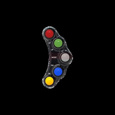 Lenkerschalter mit 5 Buttons für Aprilia RSV 4 und RSV 4 R (09-10) | JP PLSR 009