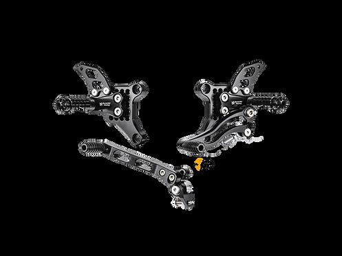 Fußrastenanlage von Bonamici Racing für Ducati 848/EVO (08-13) | D1098
