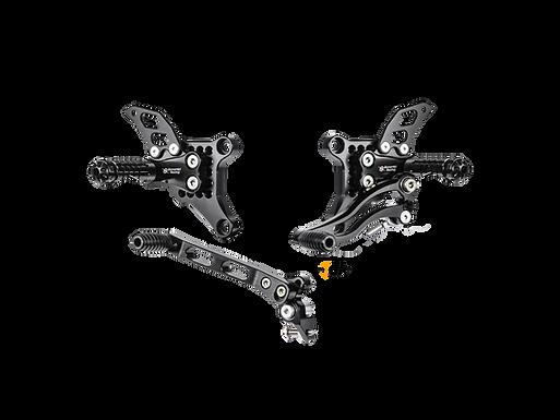 Fußrastenanlage von Bonamici Racing für Ducati 1098/R/S (07-09) | D1098