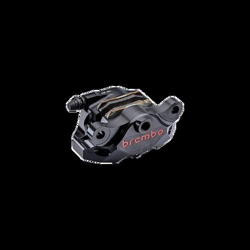 Bremszange Brembo P2 34 CNC 84mm in schwarz für hinten | 120.A441.30