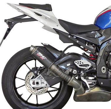SC Project GP-M2 Slip-On aus Carbon für BMW S1000RR (10-14)