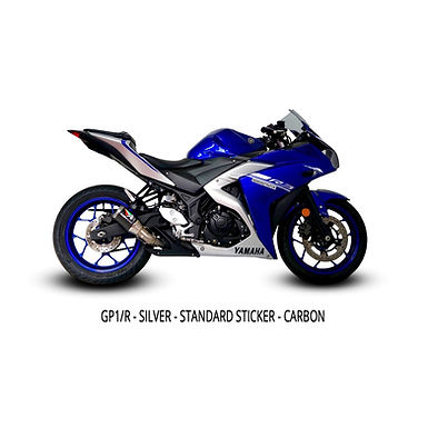 Austin Racing Slip-On (GP1R) für Yamaha YZF-R3 (2014-2020)