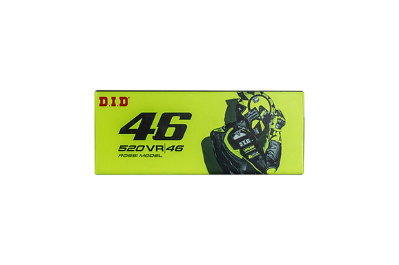 D.I.D VR46 Kette X-RING S&G 520 oder 525 offen mit Nietschloss